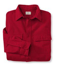 #LLBean: Bean's Chamois Cloth Shirt, Traditional Fit