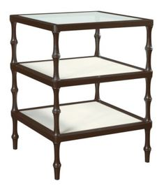 Martinique Side Table from the James River collection by Hickory Chair Furniture Co.