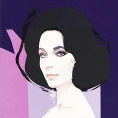 DAVID DOWNTON. M: Elizabeth Taylor.