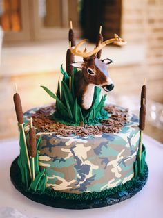 wedding cakes country Grooms Cake - Country Deer Hunting Theme - Houston Baker // S Firefighter Grooms Cake, Camo Grooms Cake, Batman Grooms Cake, Alabama Grooms Cake, Baseball Grooms Cake, Grooms Cake Tables, Chocolate Grooms Cake, Groom Cake, Hunting Grooms Cake