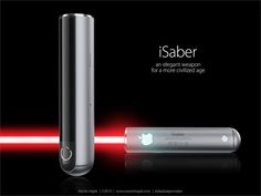 Designed by Apple in Tatooine: This is what a lightsaber designed by Jony Ive would look like Like this.