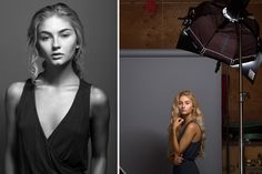 How I Shot It   A One Light Beauty Setup In A Diy Studio #photography #phototips https://www.slrlounge.com/how-i-shot-it-manipulating-a-one-light-studio-setup-with-flags/