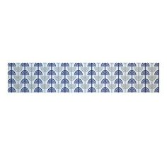 e by design Menorah Abstract Decorative Holiday Table Runner