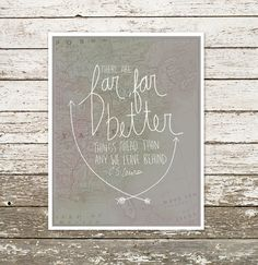 Far Far Better Things Ahead... C.S. Lewis by aestheticunion, $20.00