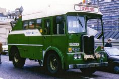 AEC - Matador Bus Companies (Special vehicles) - history, photos, PDF broshures