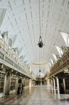 Biblioteca do Palácio Nacional de Mafra (Mafra National Palace Library)