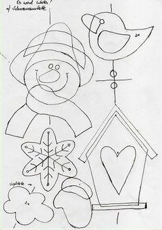 HÓEMBER, MIKULÁS PAPÍRBÓL, FILCBŐL SABLONNAL - tanitoikincseim.lapunk.hu Board Decoration, Class Decoration, Xmas Crafts, Crafts For Kids, Paper Crafts, Crochet Santa, Wall Hanging Crafts, Christmas Wall Hangings, Christmas Templates