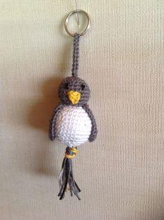Gelukspopjes, zelfgemaakte pinguïn.