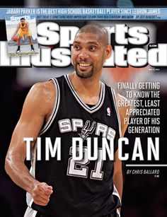 Tim Duncan, Basketball, San Antonio Spurs