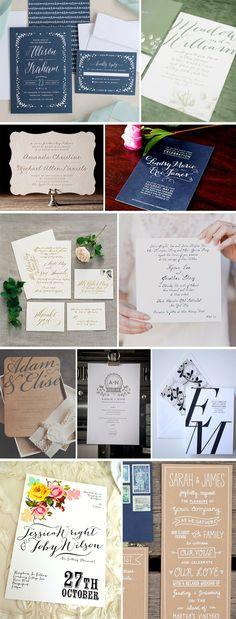 3 Ideias de Convite de Casamento