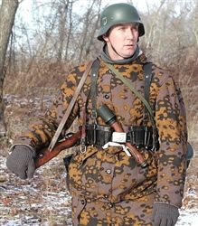 Reproduction Waffen SS Parka (w/hood) Oakleaf B Fall