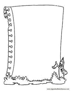 4shared - exibir todas as imagens na pasta Bordas Pedagógicas Frame Border Design, Page Borders Design, Borders For Paper, Borders And Frames, Hand Drawn Border, Wedding Invitation Background, Quiet Book Templates, Scrapbook Frames, Frame Template