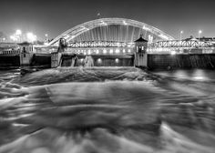 The Court Street Dam in Rochester NY.