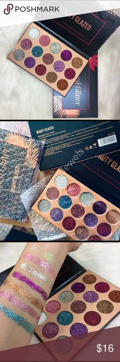 Glitter Eyeshadow Palette Beauty Glazed ⭐️ Brand new ❌ NO TRADES ⭐️ Bundle & Save Orders are processed in 2-3 biz days, excludes transit time, holidays & weekends. Comes with tracking #           ~~~~~~~~~~~~~~~~~~~~~~~~~~~~~~~ Makeup Eyeshadow