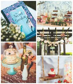 The Secret Garden inspired birthday party via Kara's Party Ideas KarasPartyIdeas.com | The Place for ALL Things PARTY! #thesecretgardenparty (2)