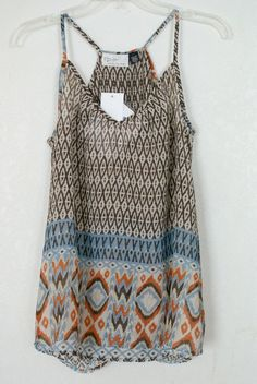 **janessa- I would wear this a lot outside of work. Stitch fix spring 2016 Geometric print tank