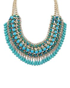 Polina Vibrant Bib Necklace from The Shopping Bag