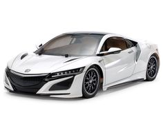 The Tamiya 1/10 RC NSX TT-02 Radio Control Model Kit  This Radio Control assembly kit model recreates the NEXT GENERATION NSX supercar.