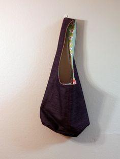 Reversible Shoulder Bag - Wendetasche - Free Tutorial - kostenlose Anleitung