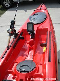 Inflatable Kayak Tips Palmetto Kayak Sportfishing: DIY Kayak Species of fish Finder Install - 2012 Wilderness Systems Ride 135 Kayak Fishing Tips, Kayaking Tips, Kayak Camping, Sport Fishing, Fishing Boats, Camping Hacks, Fishing Trips, Walleye Fishing, Fishing Stuff