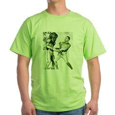 Obama & Aliens T-Shirt on CafePress.com