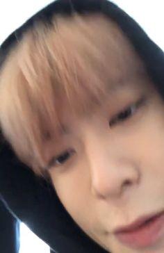"bacon-notbaekhyun-jaehyun-mingyu: ""When Jaehyun goes up close to the camera his face goes extra squishy 💕 """