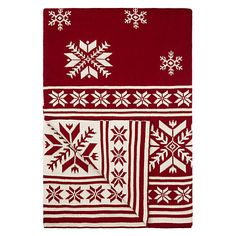 John Lewis Snowflake Throw Online
