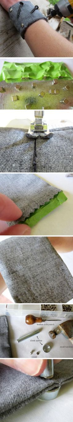 DIY Magnetic Wristband | Click Pic for 29 DIY Christmas Gift Ideas for Men | Last Minute DIY Christmas Gifts for Friends