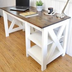 Farmhouse X Desk
