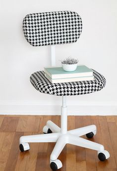 office chair makeover. 13 Back To School DIY Home Office Ideas. Chair MakeoverThrift Makeover T