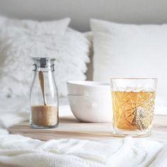 tea in bed :)