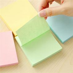 76x76mm Square Sticky Notes Labels Pack Marker Stickers Bookmarks
