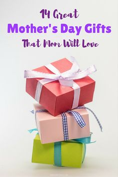 14 Great Mother's Day Gifts - When I think Mother's Day Gifts I think of gifts that are thoughtful mementos, a special something that mom wouldn't typically treat herself to, or something that would help mom to relax, de-stress, and unwind. With those themes in mind I went on a search for the best Mother's Day Gifts that I could find. Happy shopping and I hope that you find something perfect for your mother this #MothersDay!