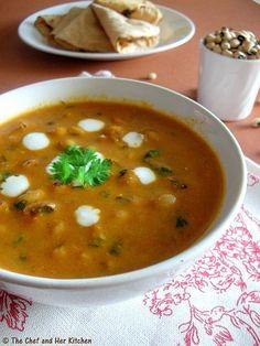 lobia - black eyed peas curry