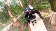 GoPro: Forest Rollerblading