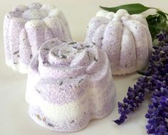 Lavender Bath Fizzy Bath Bomb Natural Bath by CrazyGoodSoapCompany