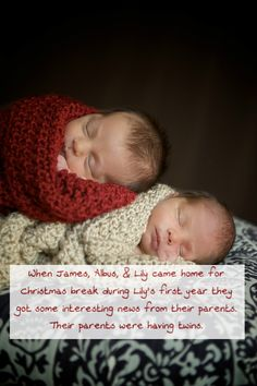 When James, Albus, & Lily came home for Christmas break during Lily's first year they got some interesting news from their parents. Their parents were having twins. James laughed and asked if one was going to be named Oppsy and the other Daisy. Regulus and Minerva Potter were forever called by their older siblings Oppsy and Daisy