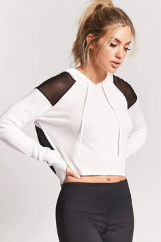 Product Name:Active Mesh Panel Top, Category:Activewear, Price:17.9 #gymoutfits