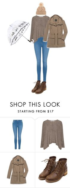 """""""Rainy day"""" by naomy-nona ❤ liked on Polyvore featuring George, Andrew Marc and Loro Piana"""