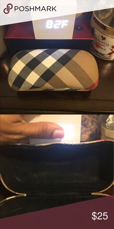 AUTHENTIC BURBERRY CASE ONLY NO FLAWS. No cloth. Just the case Burberry Accessories