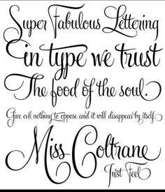 1000 Images About Fonts On Pinterest End Of Writing
