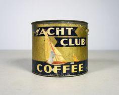 Vintage Coffee Tin.