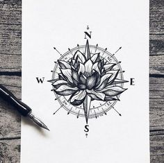 ▷ 1001 + lotus flower tattoo ideas and its symbolism - compass tattoo design, . - ▷ 1001 + lotus flower tattoo ideas and its symbolism – compass tattoo design, woman spine tatto - Tattoo Roman, Lotusblume Tattoo, Tattoo Fonts, Mandala Tattoo, Tattoo Spine, Tiny Tattoo, Lotis Flower Tattoo, Simple Lotus Flower Tattoo, Tattoo Quotes