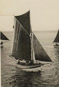 """Sloup langoustier du Conquet """"Reine des Flots"""" à Balcon François"""