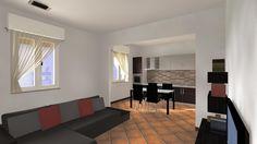 MO01 - Ristrutturazione di intero immobile (Molinella, BO): soggiorno-cucina