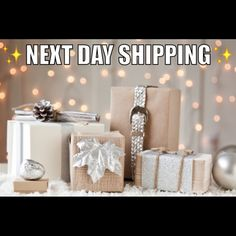 ✨Next (business) Day Shipping✨ I will ship any and all products the next business day!!! You order, the next business day I ship - it's that simple! Less of a wait, the better!!   Other