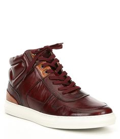 0bcc935655b Shop for Steve Madden Mens Sharper Leather Hi-Top Leather Sneaker at  Dillards.com
