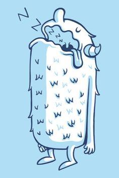 ZZZzzz...  Funny illustrations by Greg Abbott