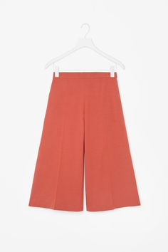 A-line cropped trousers