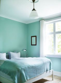 aqua - sea foam - turquoise - tiffany blue ...  whatever you want to call it, its soothing